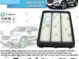 Hyundai Tucson 2 Hava Filtresi 1 6 Gdi(Benzinli) Muadil | 28113D3300