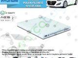 Hyundai İ30 Polen Filtresi Muadil | 97133F2000