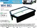 Hyundai İx35 Hava Filtresi | 281132S000
