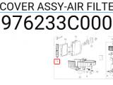 Hava Filtre Kapağı Orjinal | 976233C000