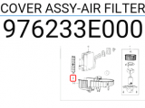 Hava Filtre Kapağı 976233C000 Orjinal | 976233E000