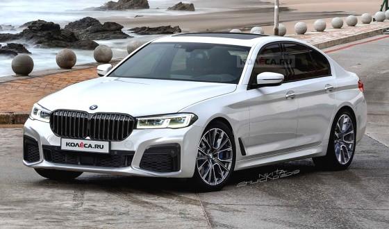BMW 5 Serisi Makyajlandı ilk görüntüler gelmeye başladı!